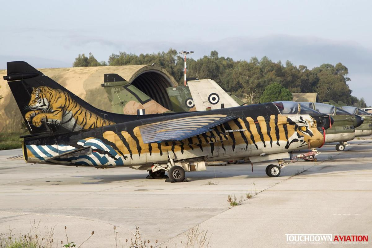A-7E Corsair II - 158825 - 336 Mira - Hellenic Air Force