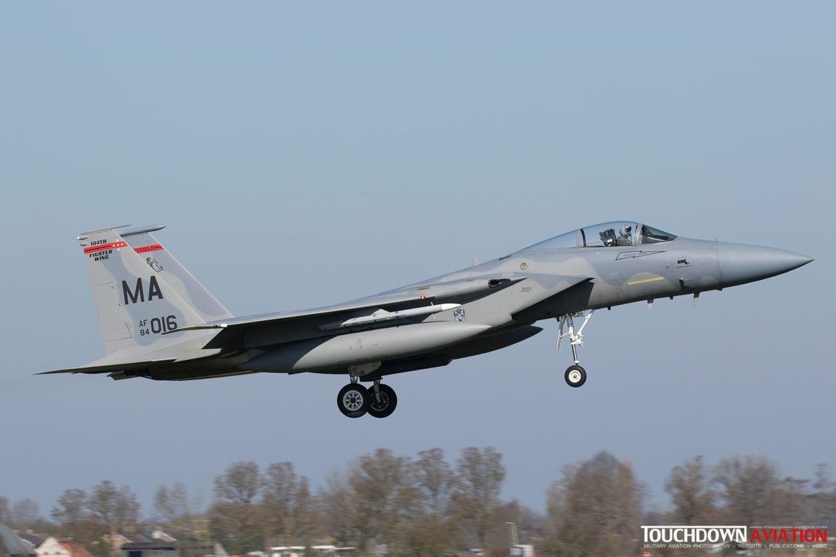 USAF ANG F-15
