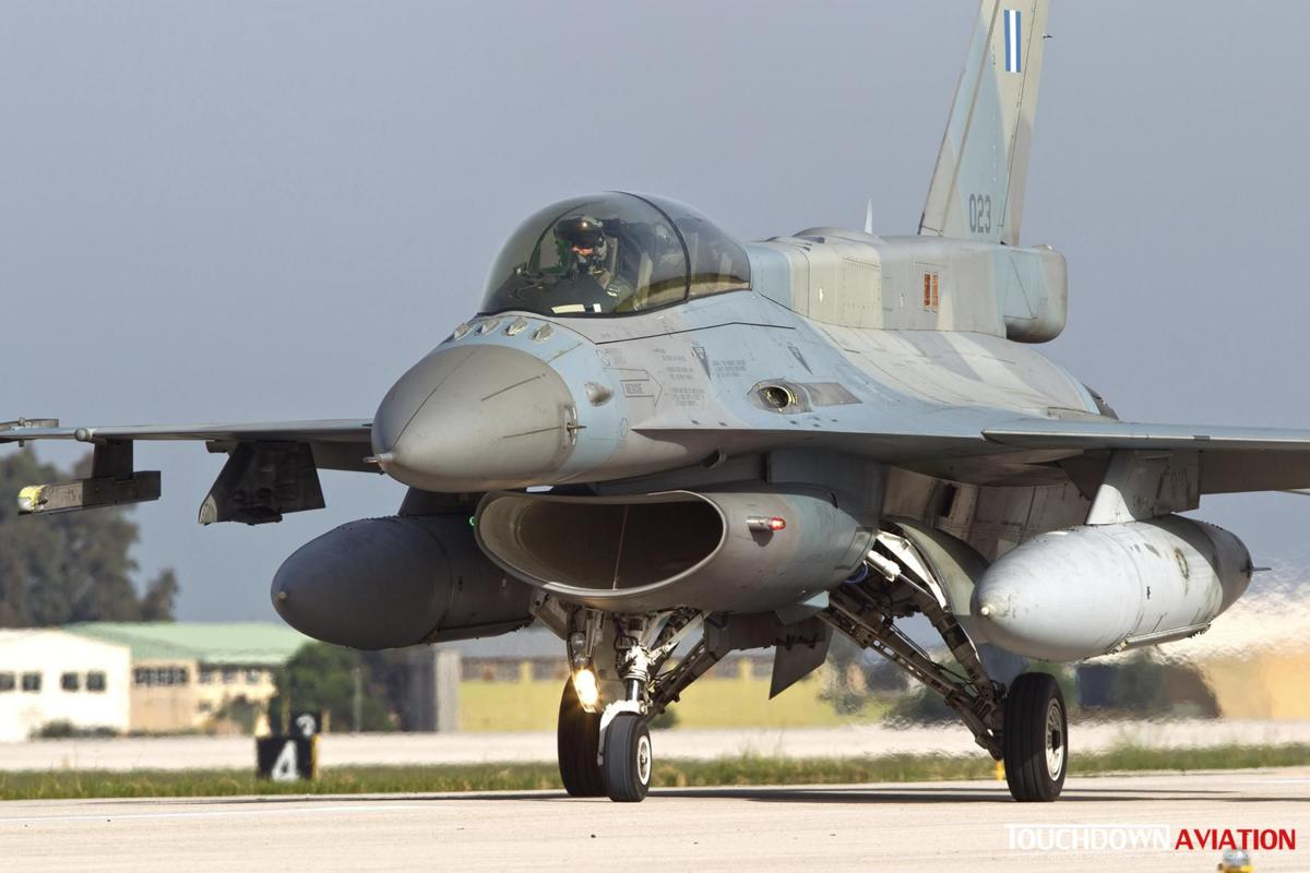 F-16D Fighting Falcon - 023 - 335 Mira - Hellenic Air Force