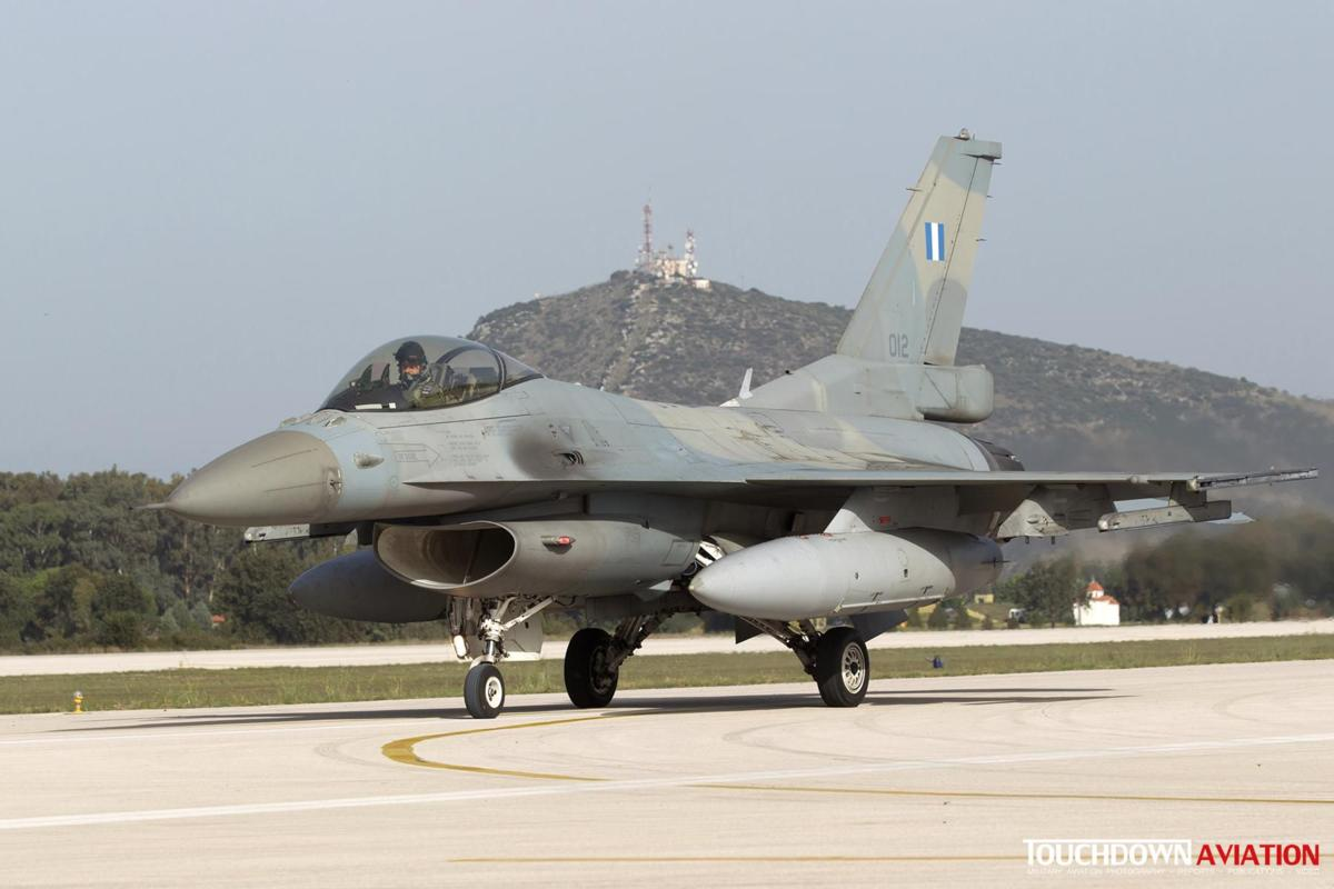 F-16C Fighting Falcon - 012 - 335 Mira - Hellenic Air Force
