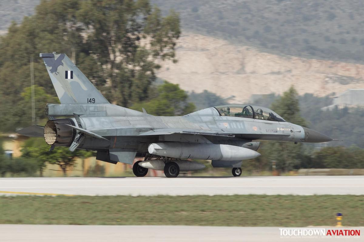 F-16D Fighting Falcon - 149 - 330 Mira - Hellenic Air Force