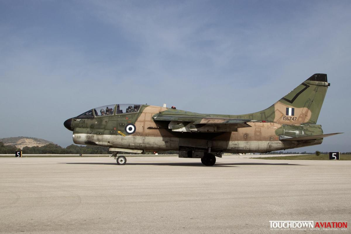 TA-7C Corsair II - 156747 - 336 Mira - Hellenic Air Force