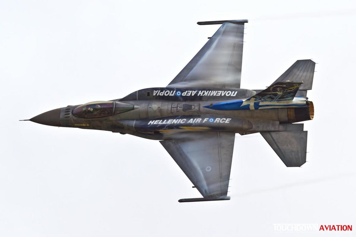F-16C Fighting Falcon - 505 - 343 Mira - Hellenic Air Force