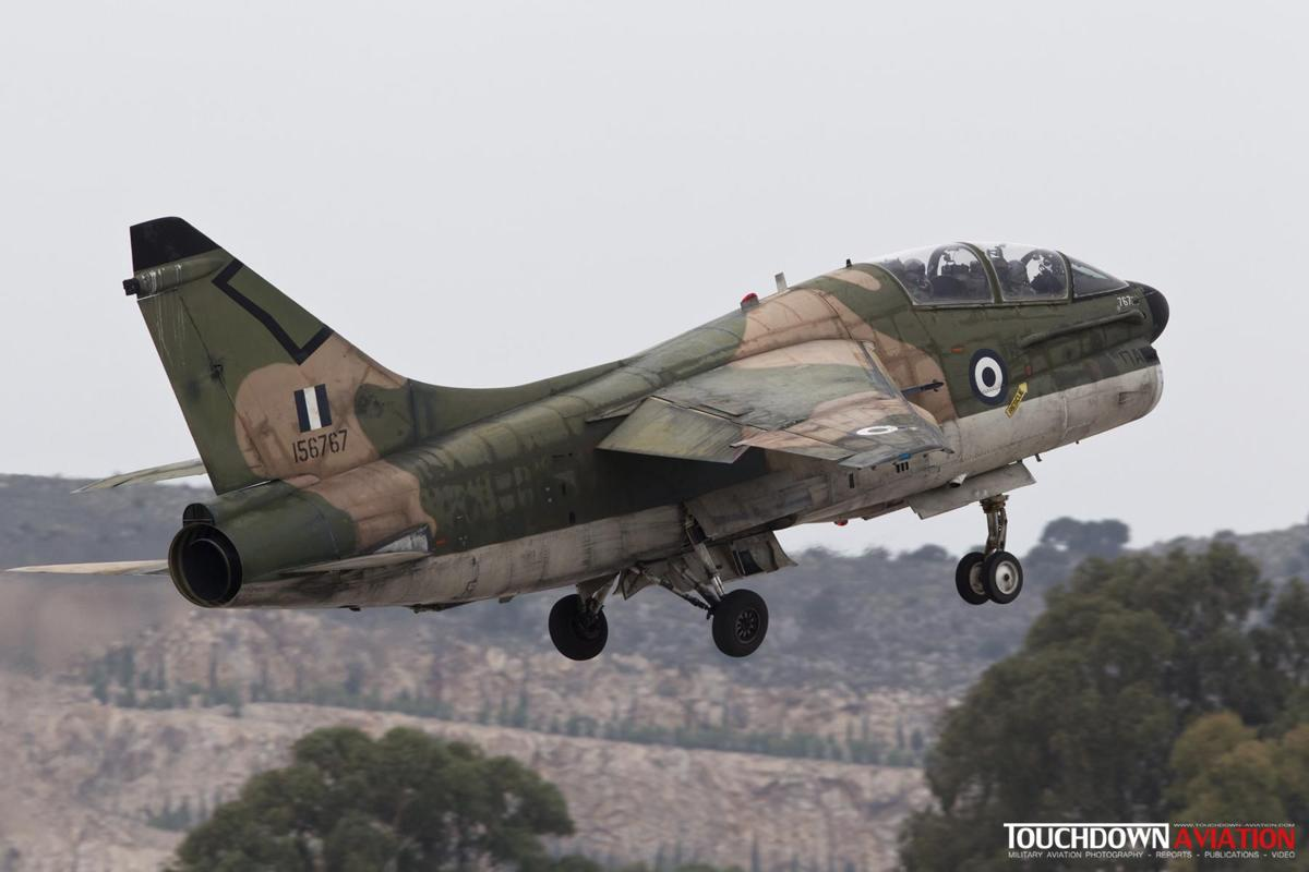 TA-7C Corsair II - 156767 - 336 Mira - Hellenic Air Force