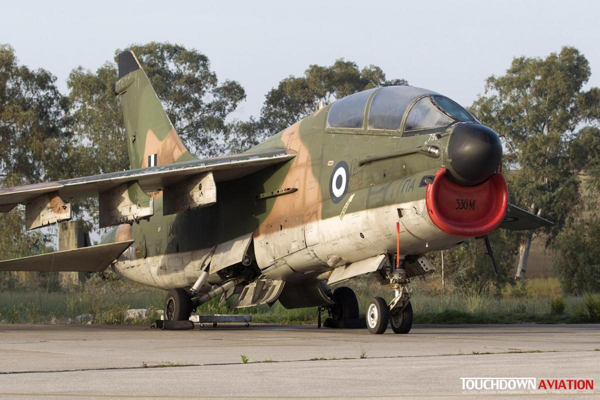 TA-7C Corsair II - 156790 - 336 Mira - Hellenic Air Force